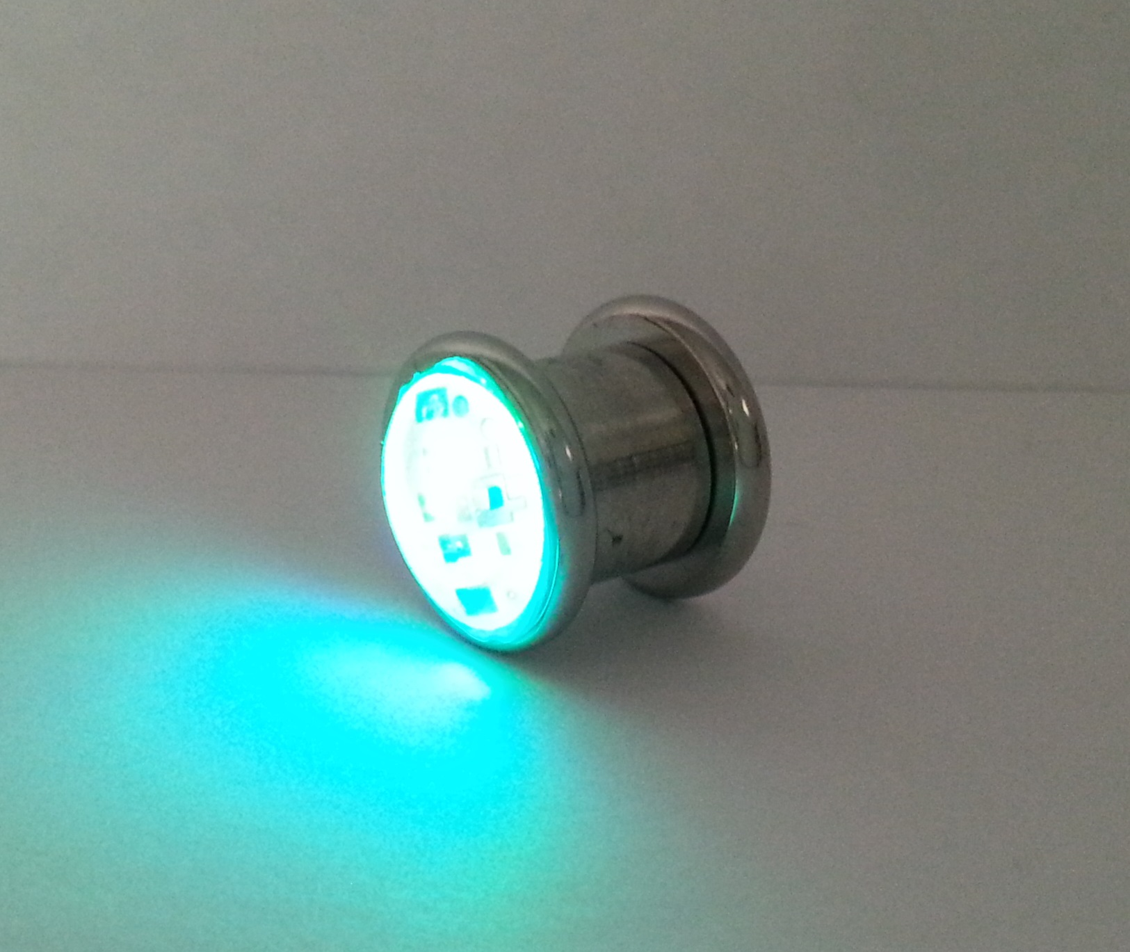 Led Light Up Ear Gauge Plug Eternity Led