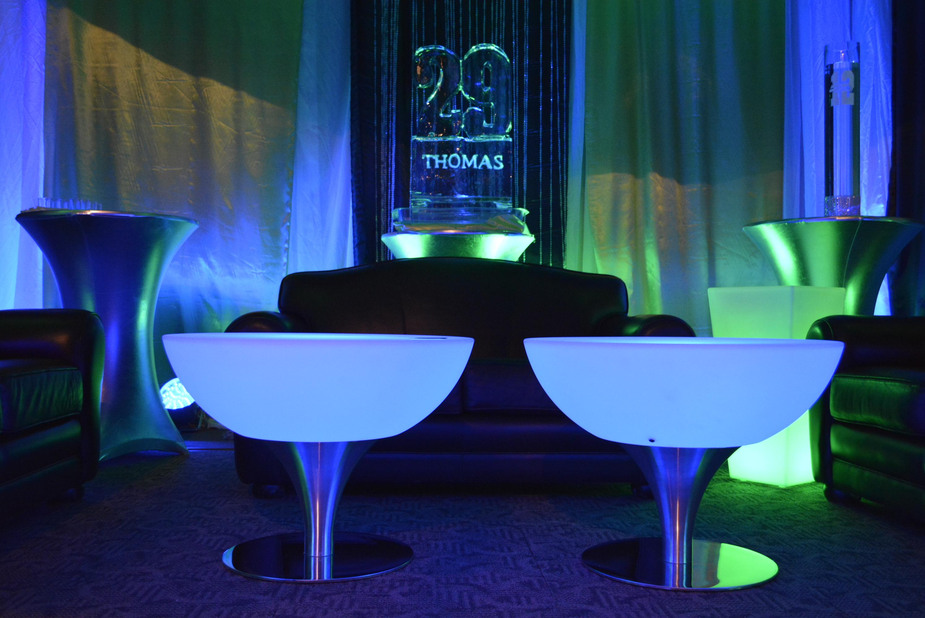 "31"" LED Coffee Table"