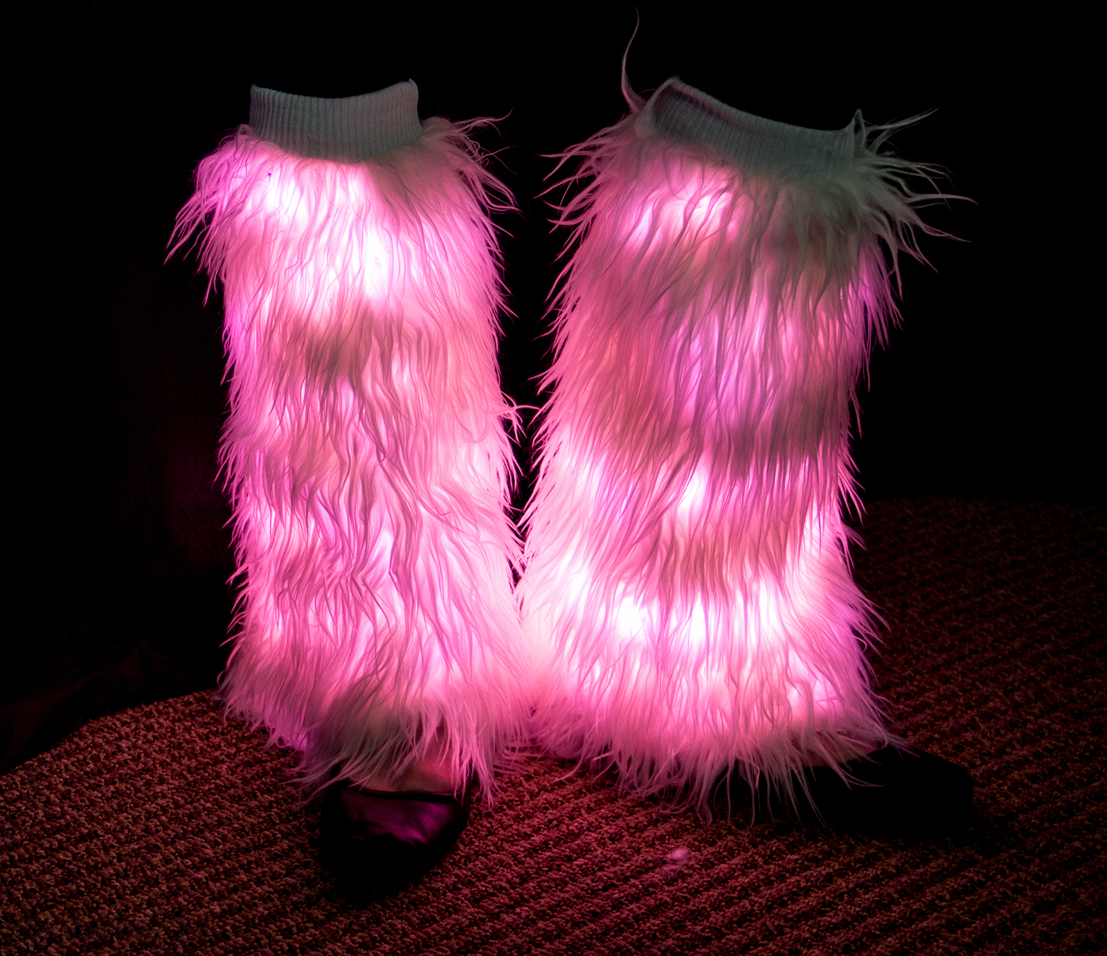 Light Up Leg Warmers Eternity Led