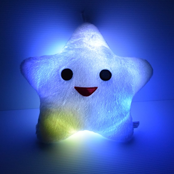 glow star pillow