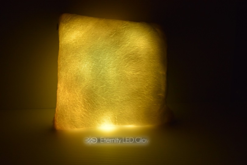 Led Light Up Couch Pillow Eternity Led
