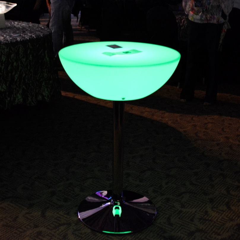 Light Up Small Cocktail Table