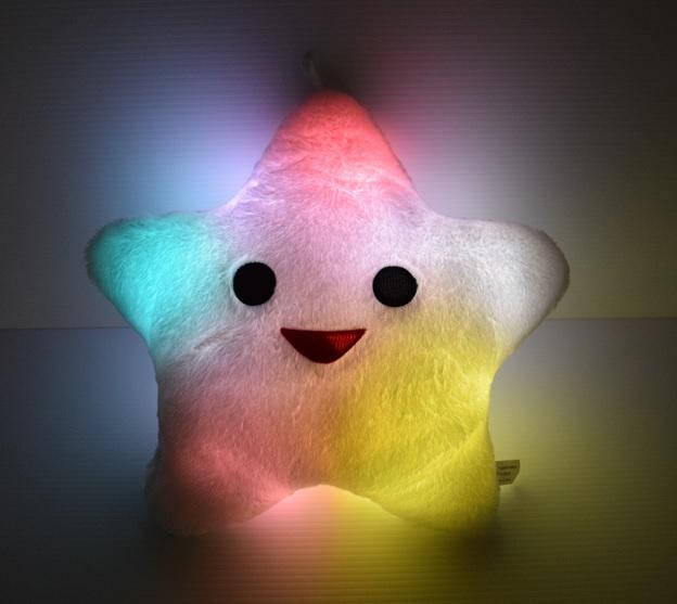 LED Light Up Star Pillow | Eternity LED Glow