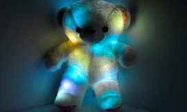 LED light up Teddy Bear the perfect gift!
