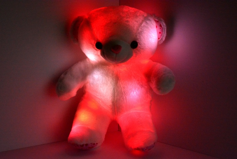 Led Light Up Teddy Bear Eternity Led