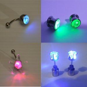 LED Earrings & Piercings
