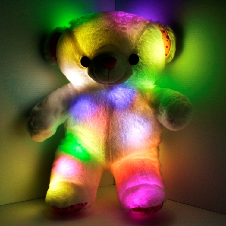 glow teddy bear