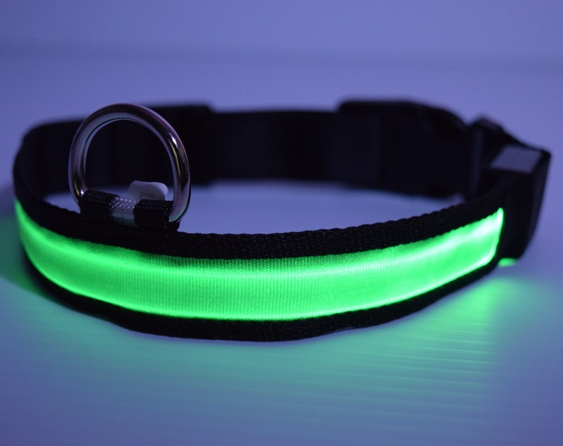 glow green collar google