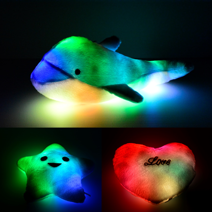 Light Up Glow Pillows