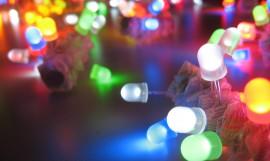 LED Throwies: Rainbow Light-Up Temporary Graffiti