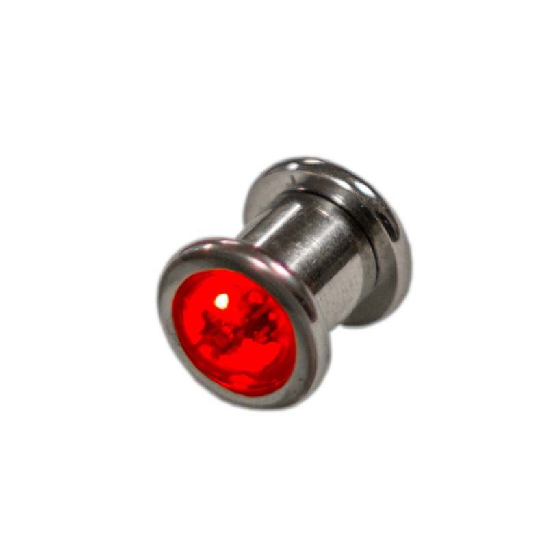0g led ear gauge