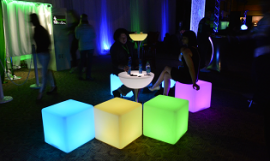 LED Light Up Furniture Rental For Events