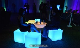 LED Cube Seat for Events & Nightclubs