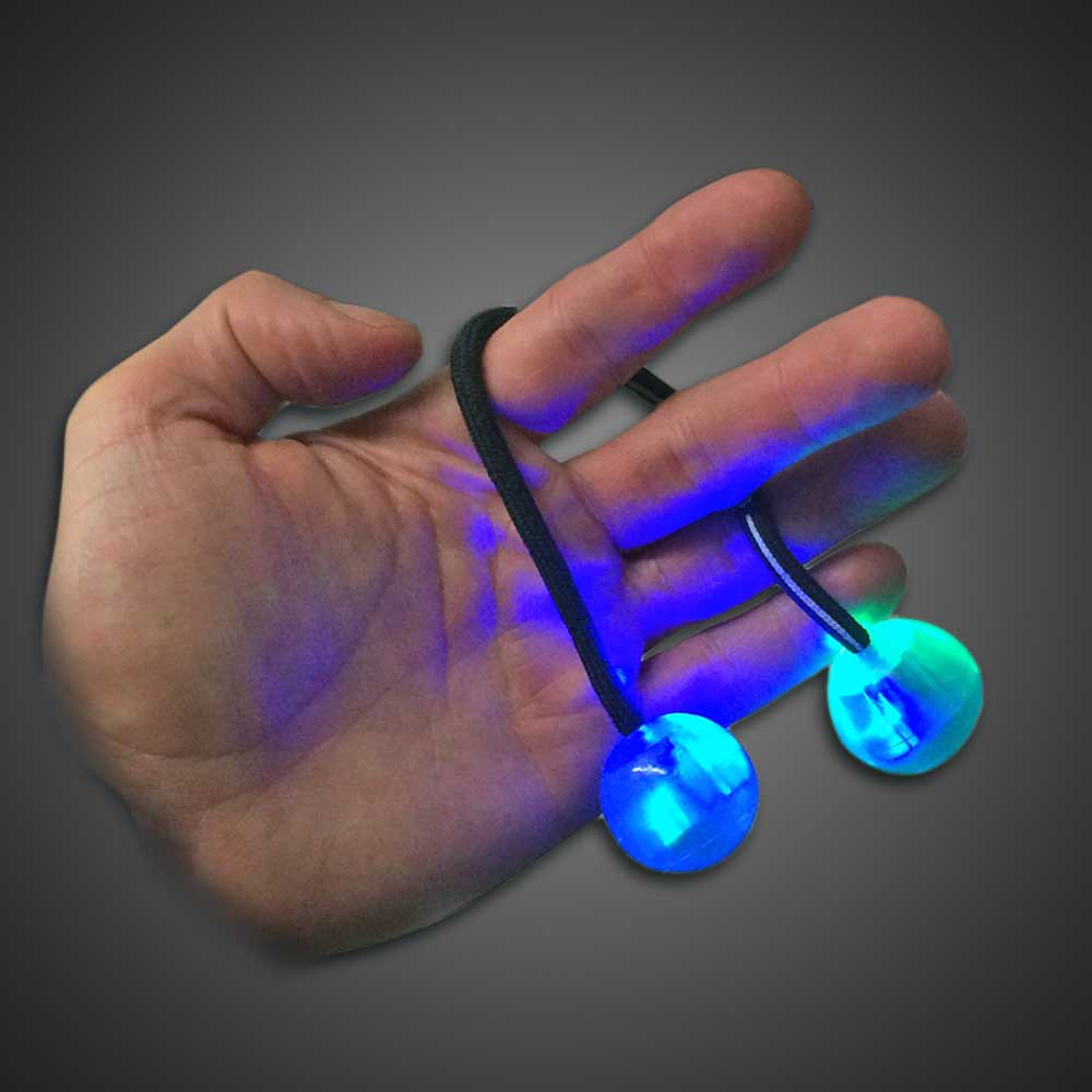 led finger chuks toy