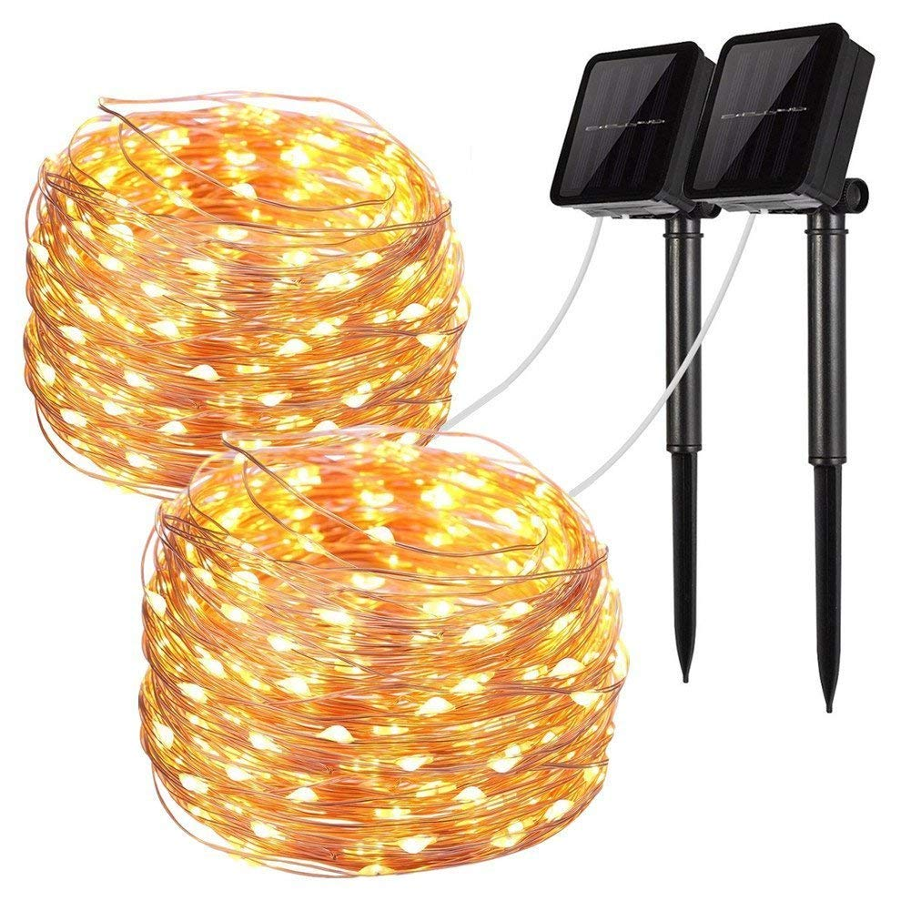 Led Light Up Garden Flowers Solar Powered Flower Lights Wiring A Outdoor String Fairy Wire Christmas Pack Of 2