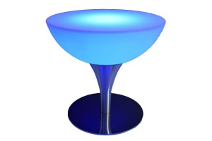 coffee table 24 blue