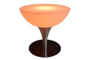 coffee table 24 orange