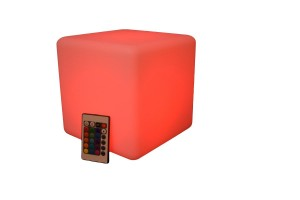 cube 8 red remote
